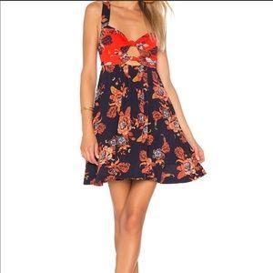NWT Free People Bandeau Mini Dress